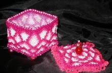 Ягоды из бисера схемы плетения для начинающих